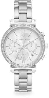 Michael Kors Sofie Chronograph Stainless Steel Bracelet Watch