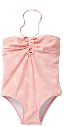 Jessica Simpson Blossom Floral Suit (Toddler Girls)