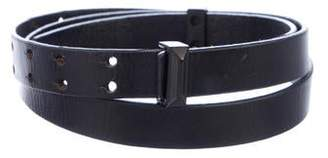 Dion Lee Skinny Leather Belt