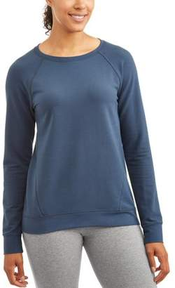 Athletic Works Women's Essential Crewneck Sweatshirt