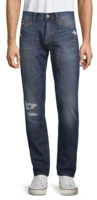 Jean Shop Mick Distressed Cotton Jeans