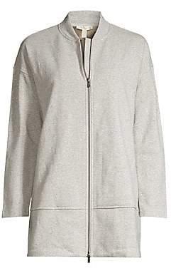 Eileen Fisher Women's Cotton-Blend Jacket