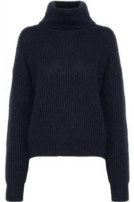 Markus Lupfer Ribbed-Knit Turtleneck Sweater