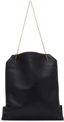 The Row Black Small Lunch Bag