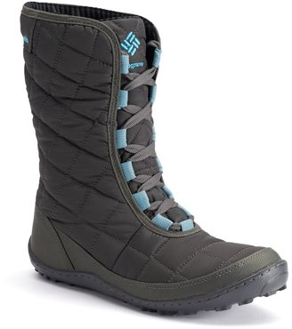Columbia Crystal Mid Lace Thermal Coil Women's Waterproof Winter Boots $120 thestylecure.com