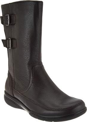 Clarks Leather Waterproof Mid Calf Boots - Kearns Rain