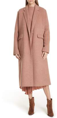 Vince Long Wool Alpaca Blend Coat