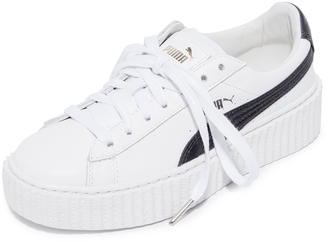 PUMA x Fenty Cracked Creeper Sneakers $150 thestylecure.com