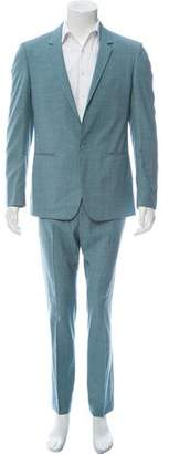 Calvin Klein Collection Virgin Wool Two-Piece Suit