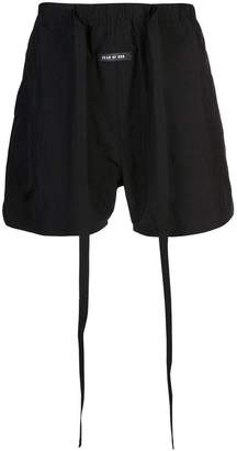Fear Of God tie waist shorts