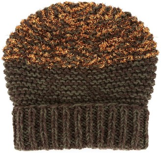 0711 Fuzzy Knit Beanie