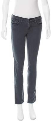 J Brand Low-Rise Straight-Leg Jeans