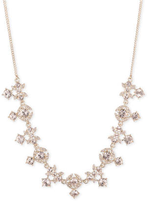 "Givenchy Crystal 16"" Collar Necklace"