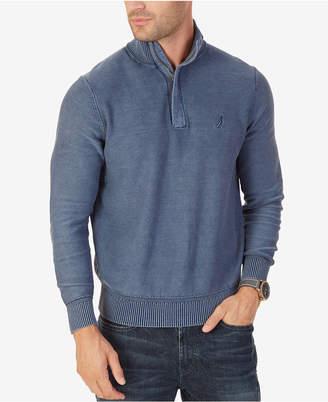Nautica Men's Classic-Fit Quarter-Zip Sweater