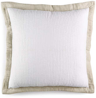 Hotel Collection Voile Quilted European Sham