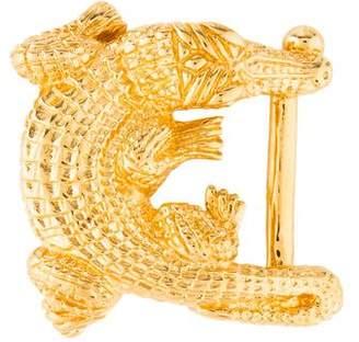 Kieselstein-Cord Gold-Plated Belt Buckle