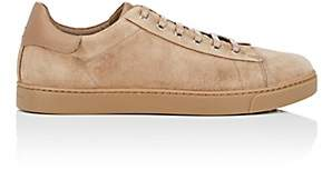 Gianvito Rossi Men's Suede Sneakers-Camel