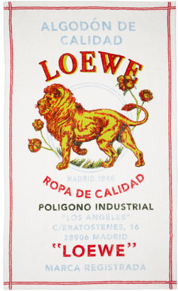 Loewe (ロエベ) - Loewe マルチカラー El Leon ブランケット