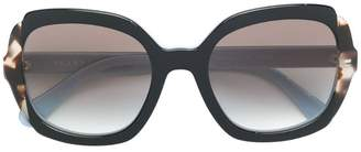 Prada oversized square-frame sunglasses