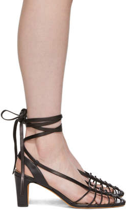 Maryam Nassir Zadeh Black Maribel Strappy Sandals