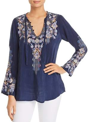 Johnny Was Tanya Embroidered Tunic