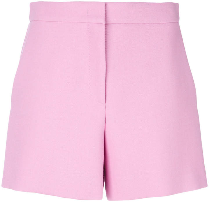 tailored high-waist shorts