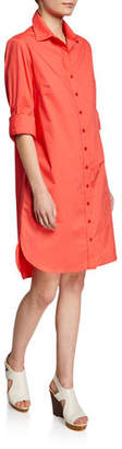 Finley Alex Button-Front Shirtdress