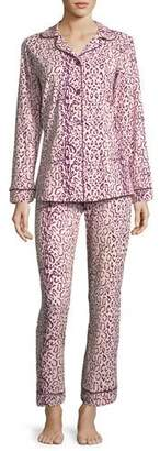 BedHead Berry Mighty Jungle Long-Sleeve Pajama Set