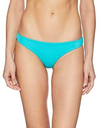 RVCA Women's Solid Basic Isle Skimpy Bikini Bottom