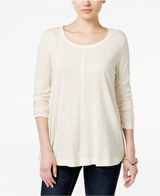 Style & Co. Long-Sleeve Swing Top, Only at Macy's $39.50 thestylecure.com