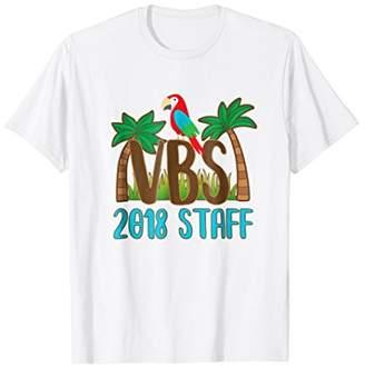 2018 VBS Staff Shirt for Teachers with Island Tropical Theme