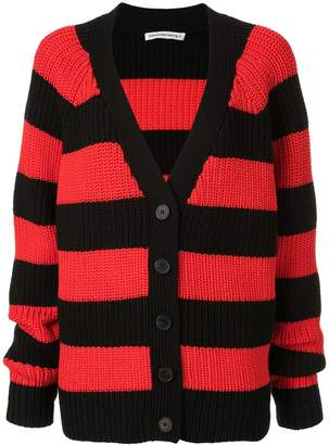 Alexander Wang oversized striped cardigan