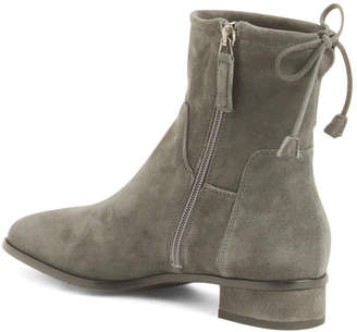 Made In Italy Suede Dress Boots