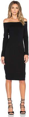 L'Agence Daphne Off Shoulder Dress