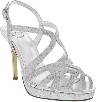 I. MILLER I. Miller Fatemah Cross-Strap High Heel Platform Sandals $70 thestylecure.com