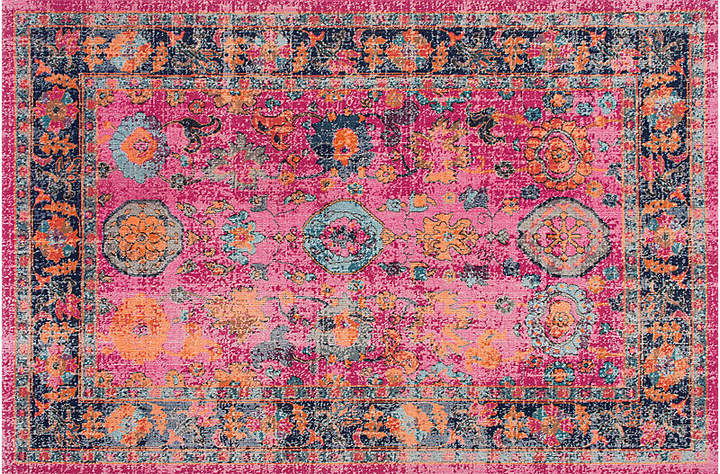Woodhaven Rug - Pink - 4'x6'
