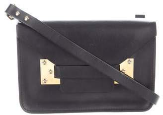 Sophie Hulme Leather Crossbody Bag
