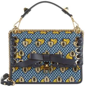 Fendi Carpet Weave Kan I Shoulder Bag