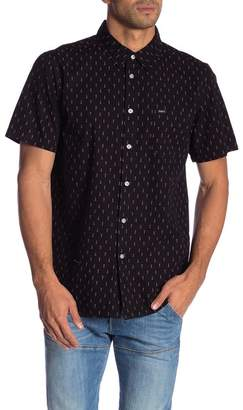Obey Screw Print Short Sleeve Shirt
