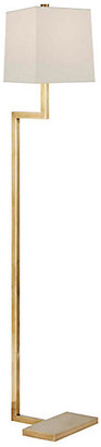 AERIN Alander Floor Lamp - Antiqued Brass