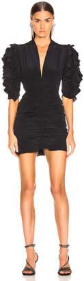Isabel Marant Andor Dress in Black | FWRD