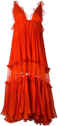 'Mousseline' maxi dress