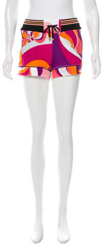 Emilio PucciEmilio Pucci Printed Mini Shorts w/ Tags