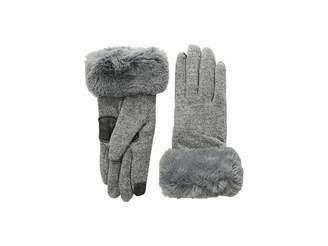 Echo Faux Fur Cuff Gloves