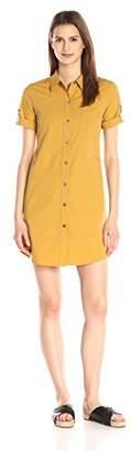 Theory Women's Mayvine Light Poplin Shirtdress