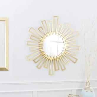 Mercer41 Hassett Geometric Sunburst Accent Mirror