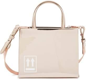 Off-White Off White Box mirror tote bag