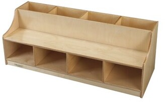 Child Craft Childcraft Kids Bench with Storage Compartment Childcraft