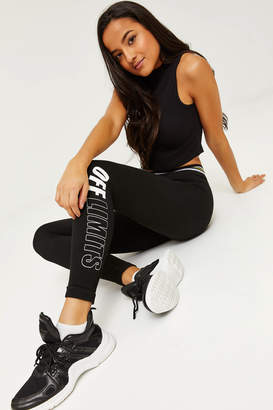 Ardene Off Limits Lined Leggings