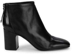 Franco Sarto Jacoby Block Heel Leather Booties